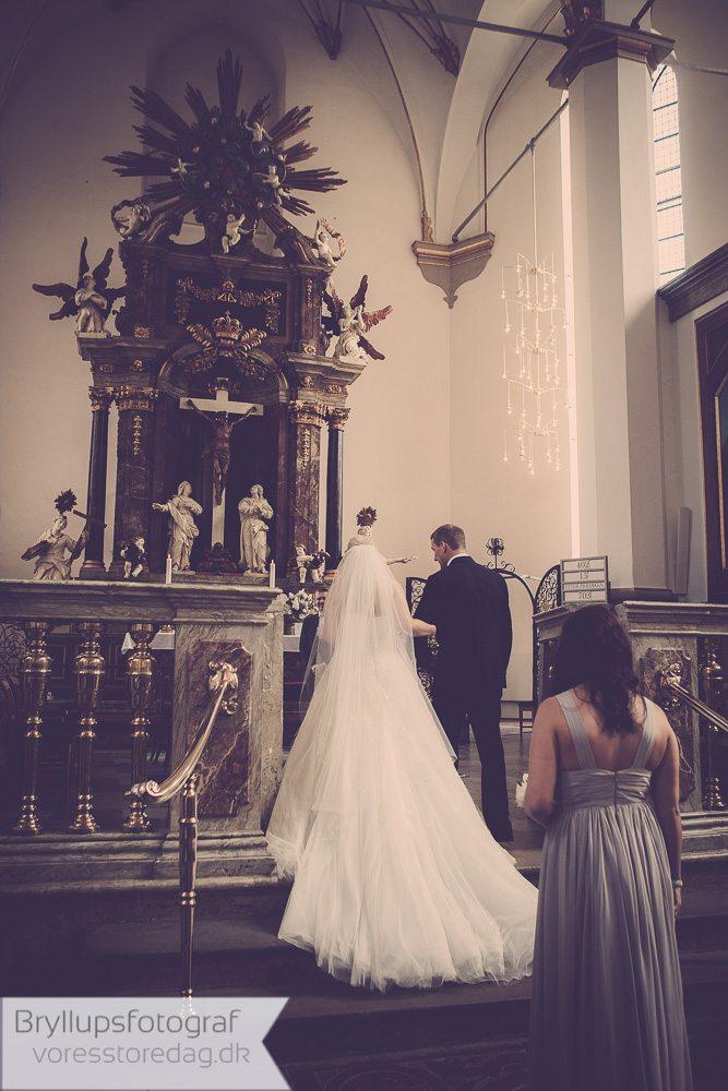 Bryllup Trinitatis Kirke 7