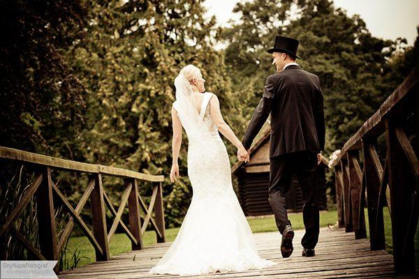 Bryllup på Broholm Slot