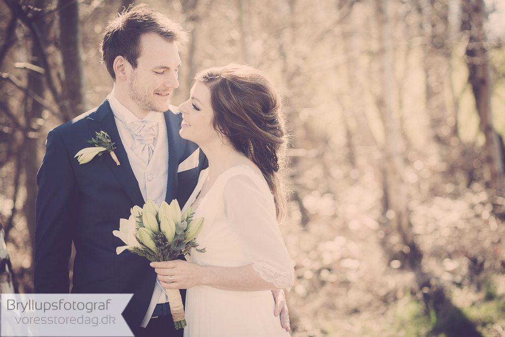 Bryllupsfotografering Kalundborg