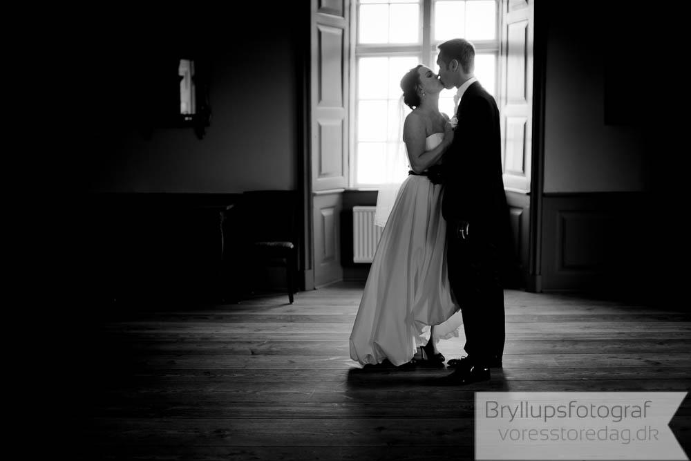 Bryllupsfotografering ved Sæby