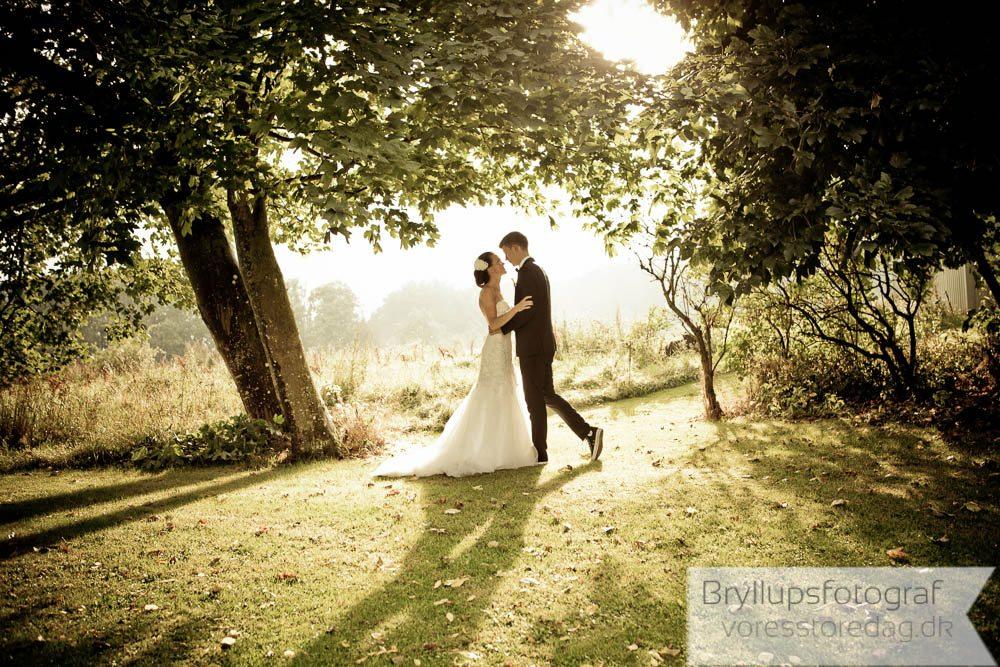 Bryllupsbilleder ved Hedensted