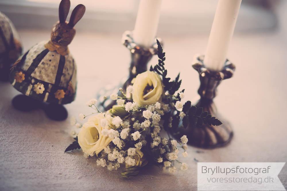 pynt til kirken bryllup