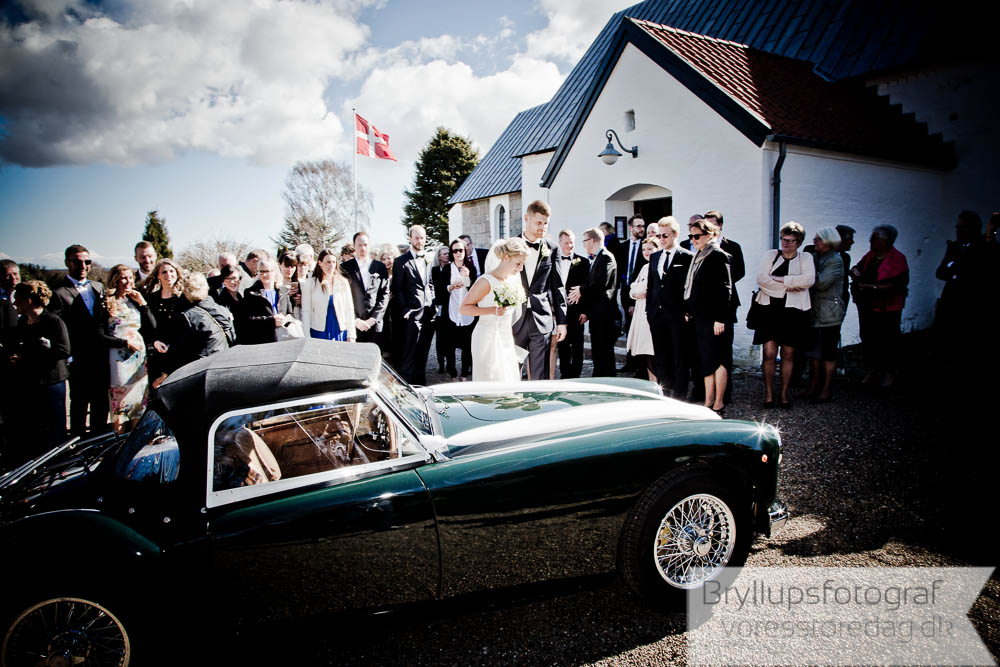riskast brudepar kirke