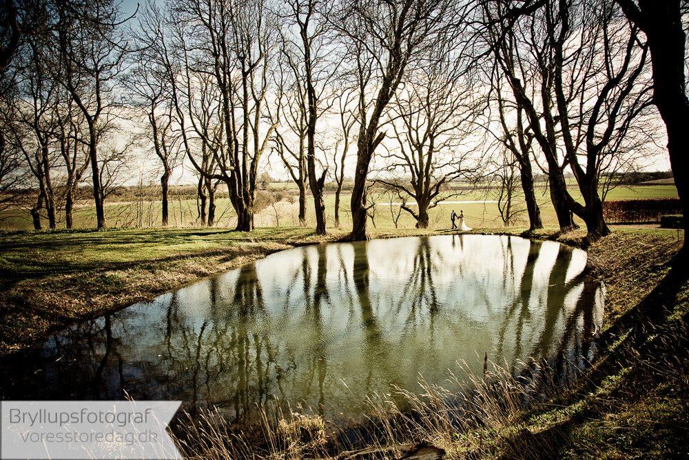brudefoto sø dragsholm slot