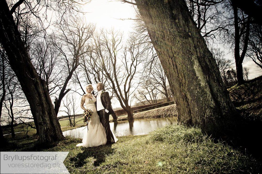 brudepar dragsholm slot