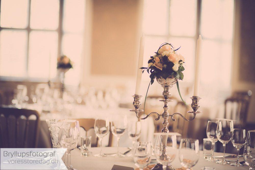 pynt til bordet bryllup