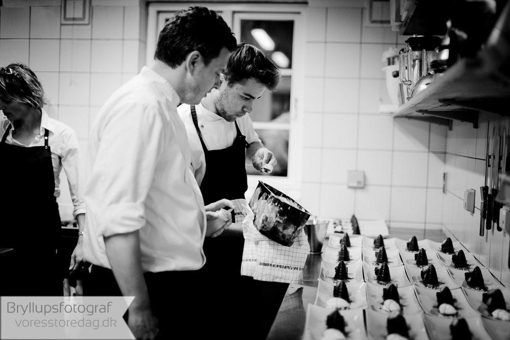 kokke bryllup