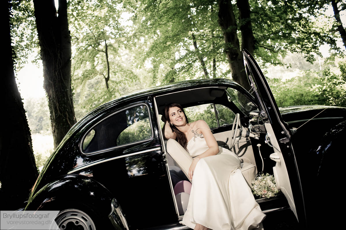 bryllupsfoto linse