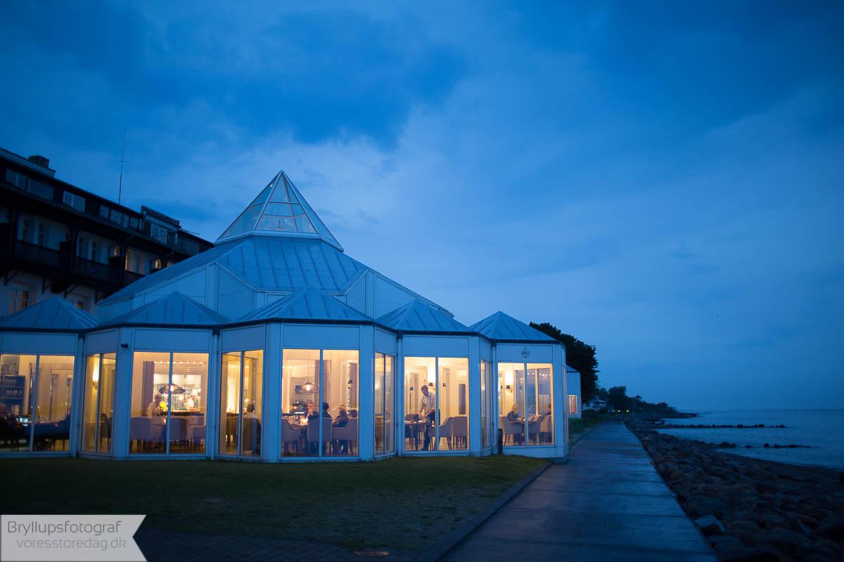 bryllup med overnatning nordsjælland