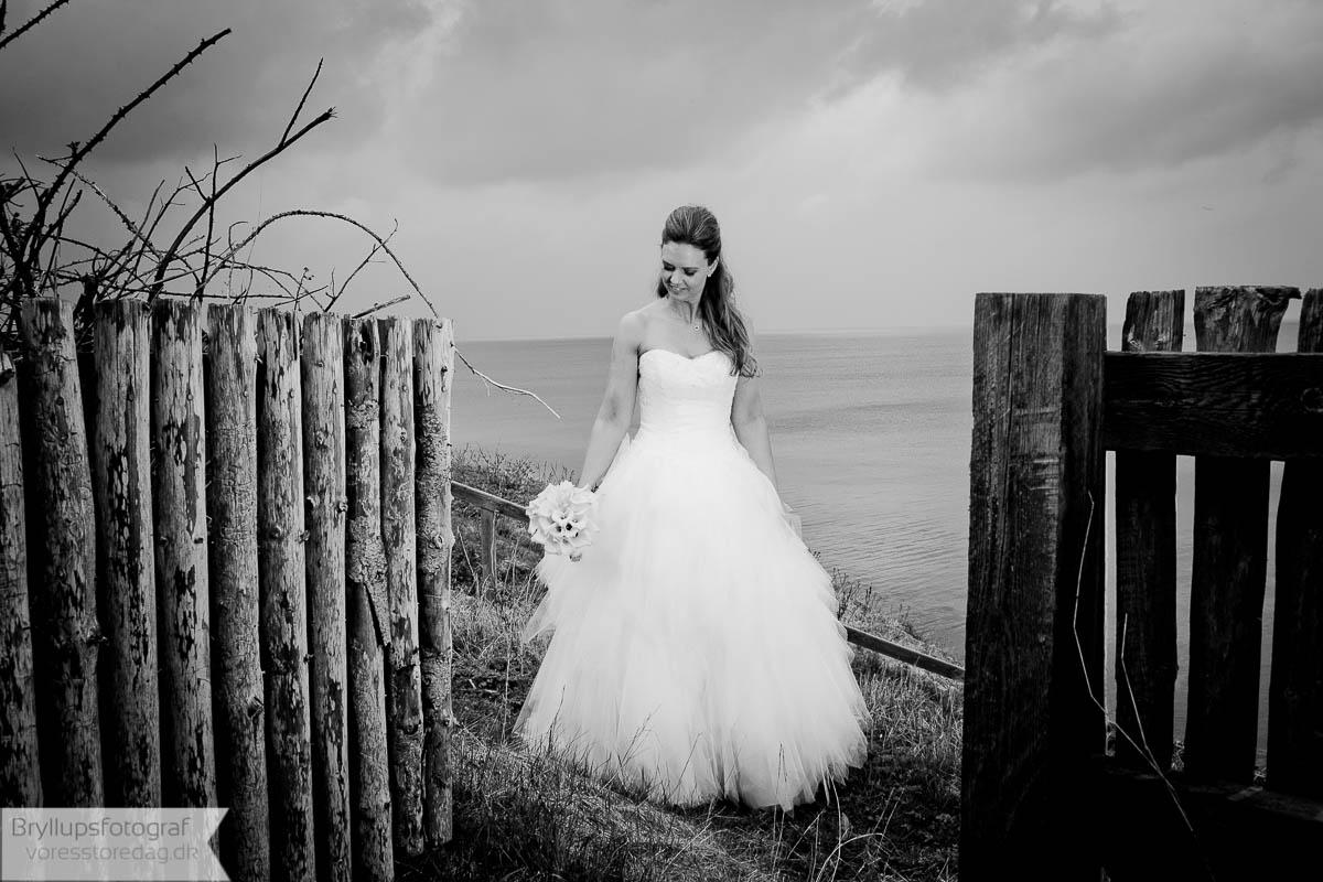 bryllupsfoto strand