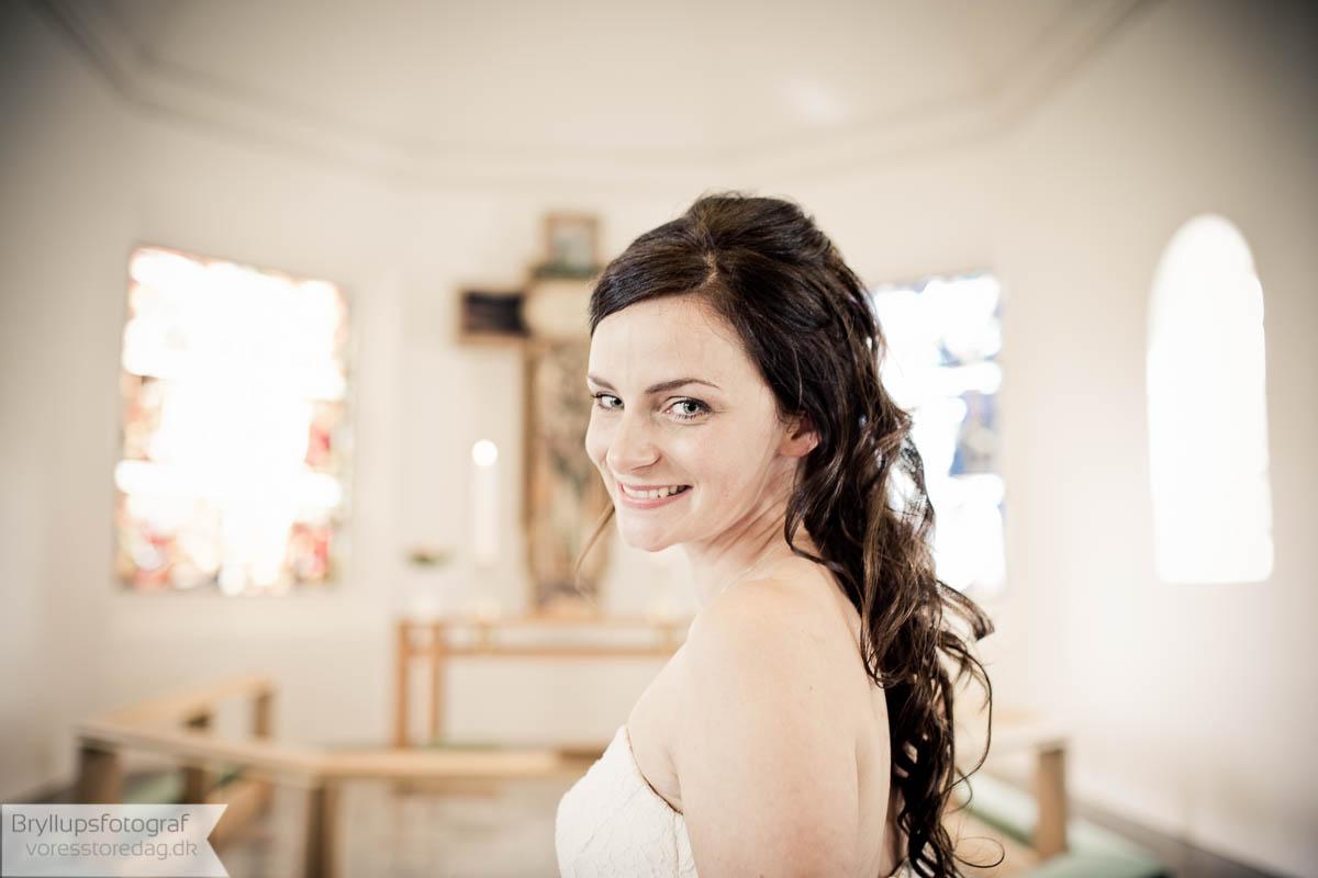 bryllup frisure