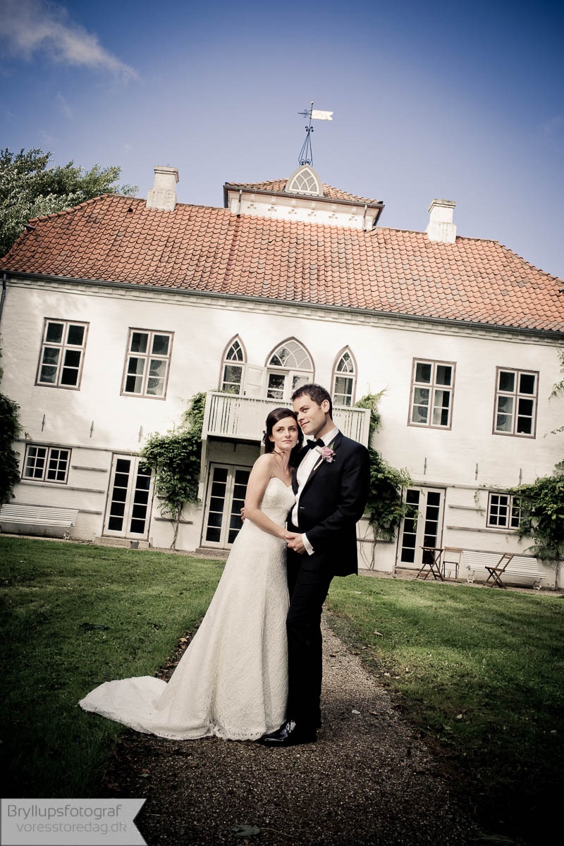 bryllup overnatning