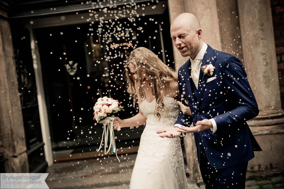 bryllup og barnedåb