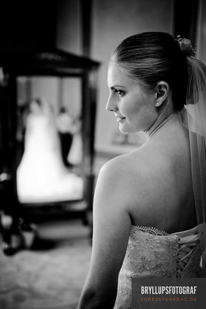 linse til bryllupsfoto