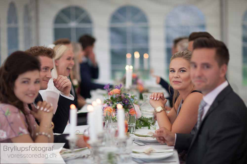 bordpynt bryllup