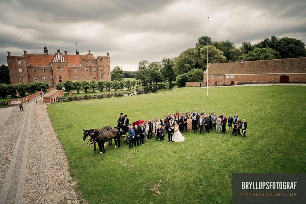 bryllupsfoto med drone