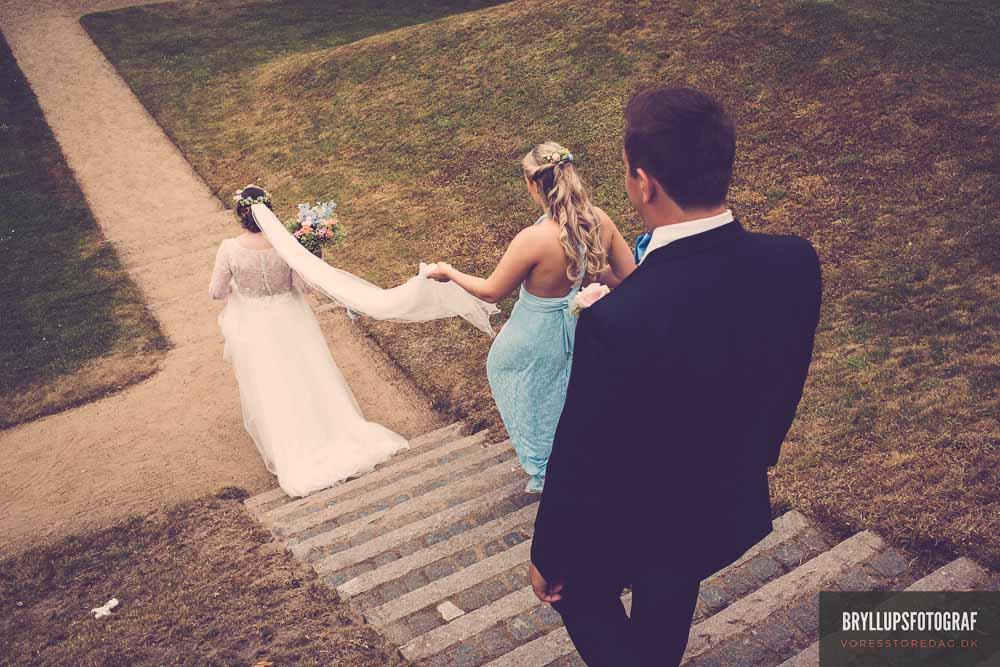 håropsætning bryllup