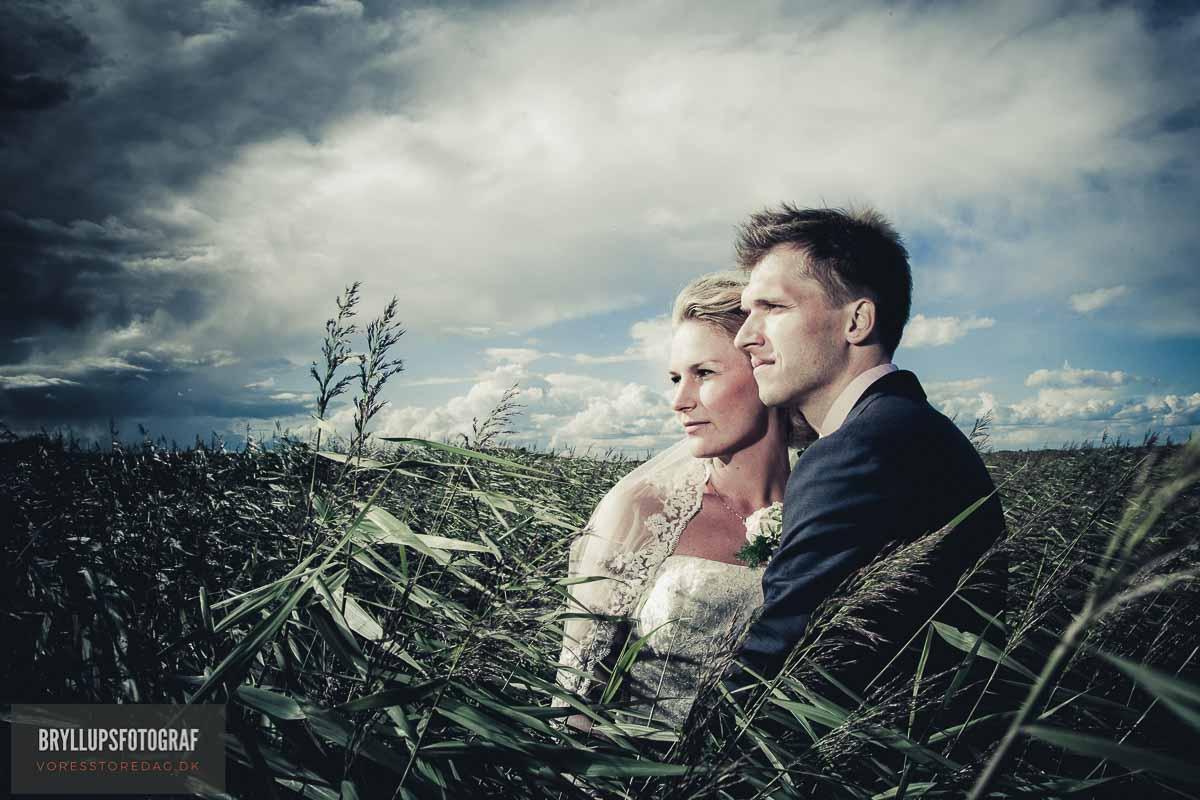 brudepar kornmark
