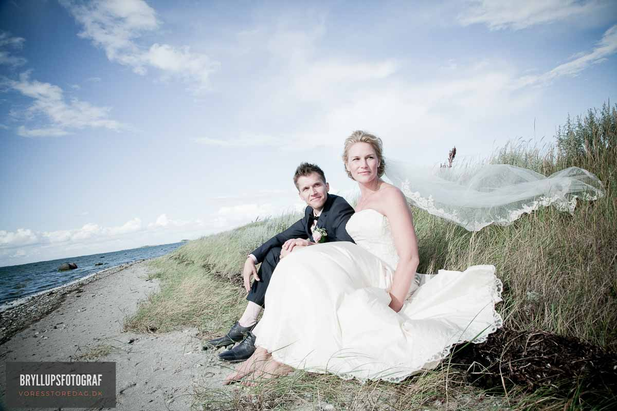 brudepar strand