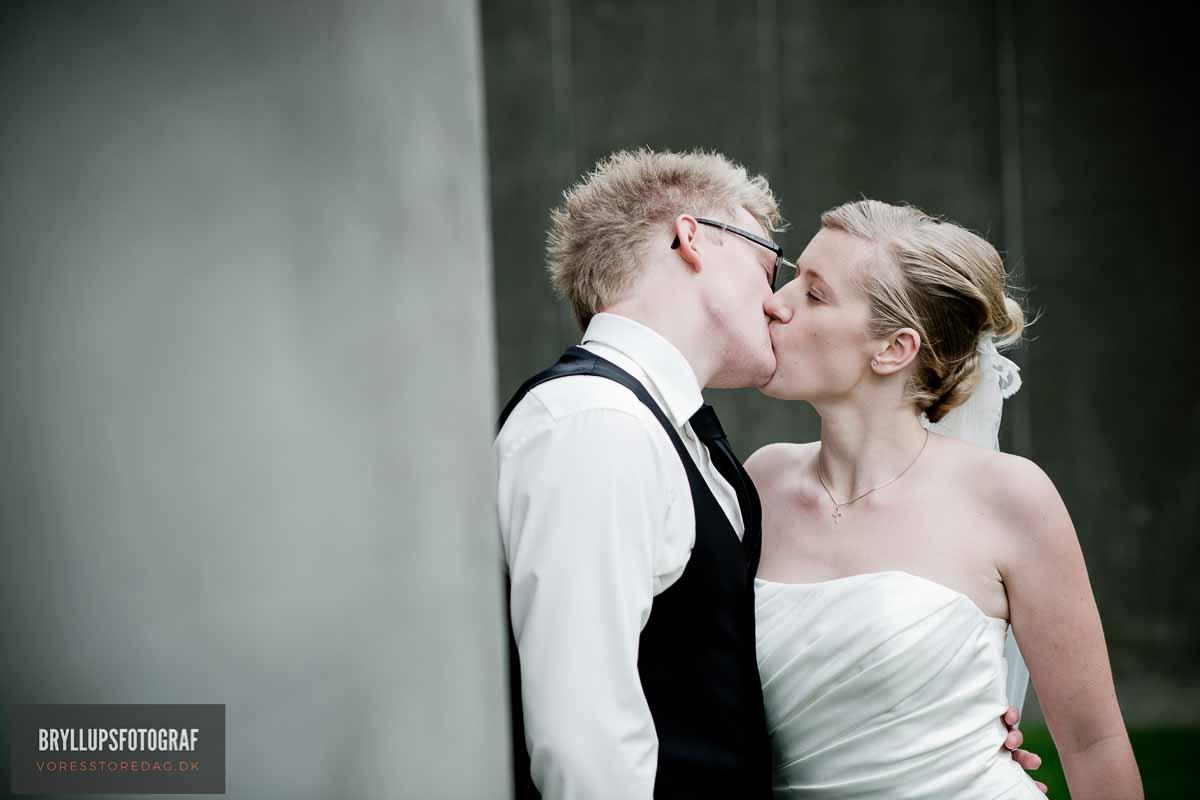brudepar kys