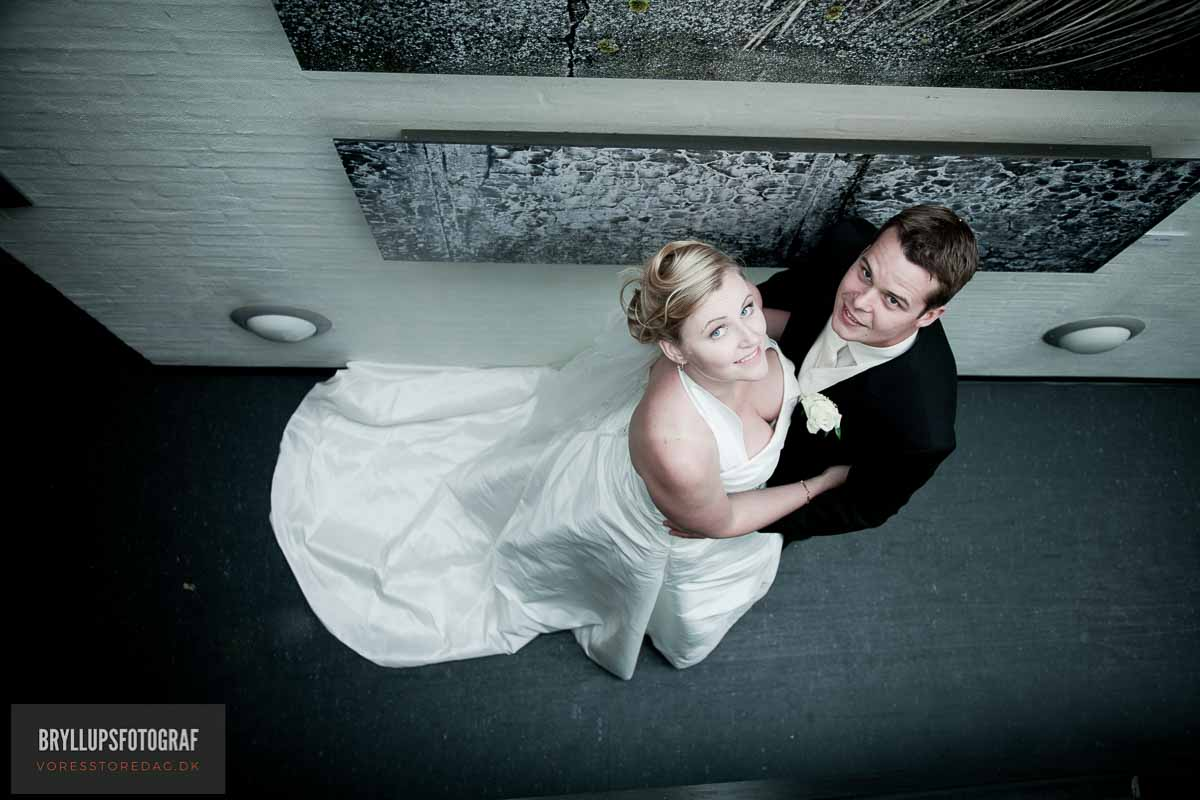 brudepar portræt