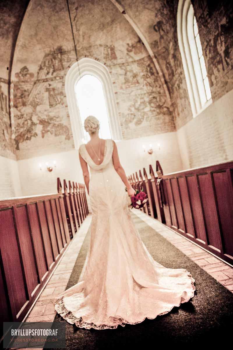 bruden i kirken dronninglund slot