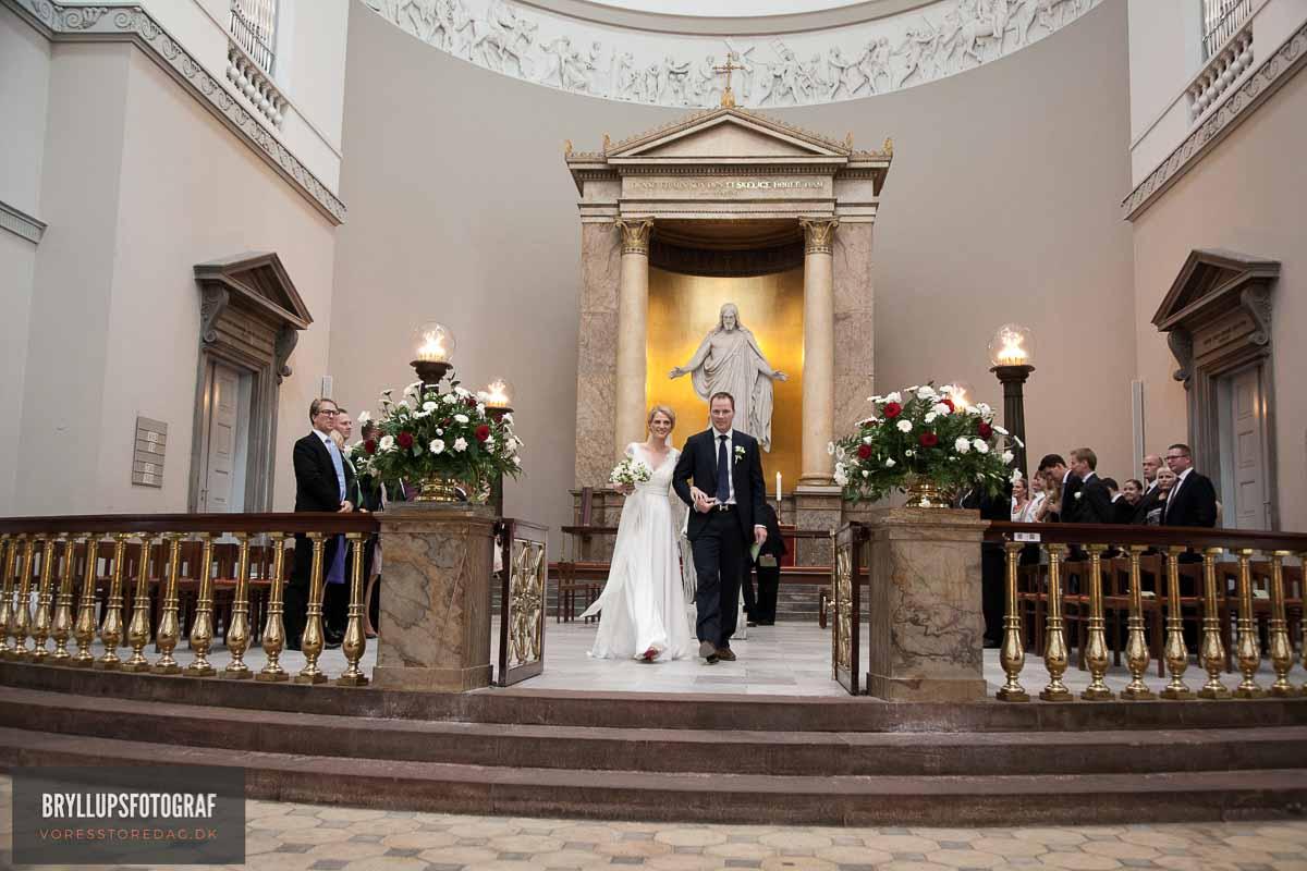 brudepar i kirken