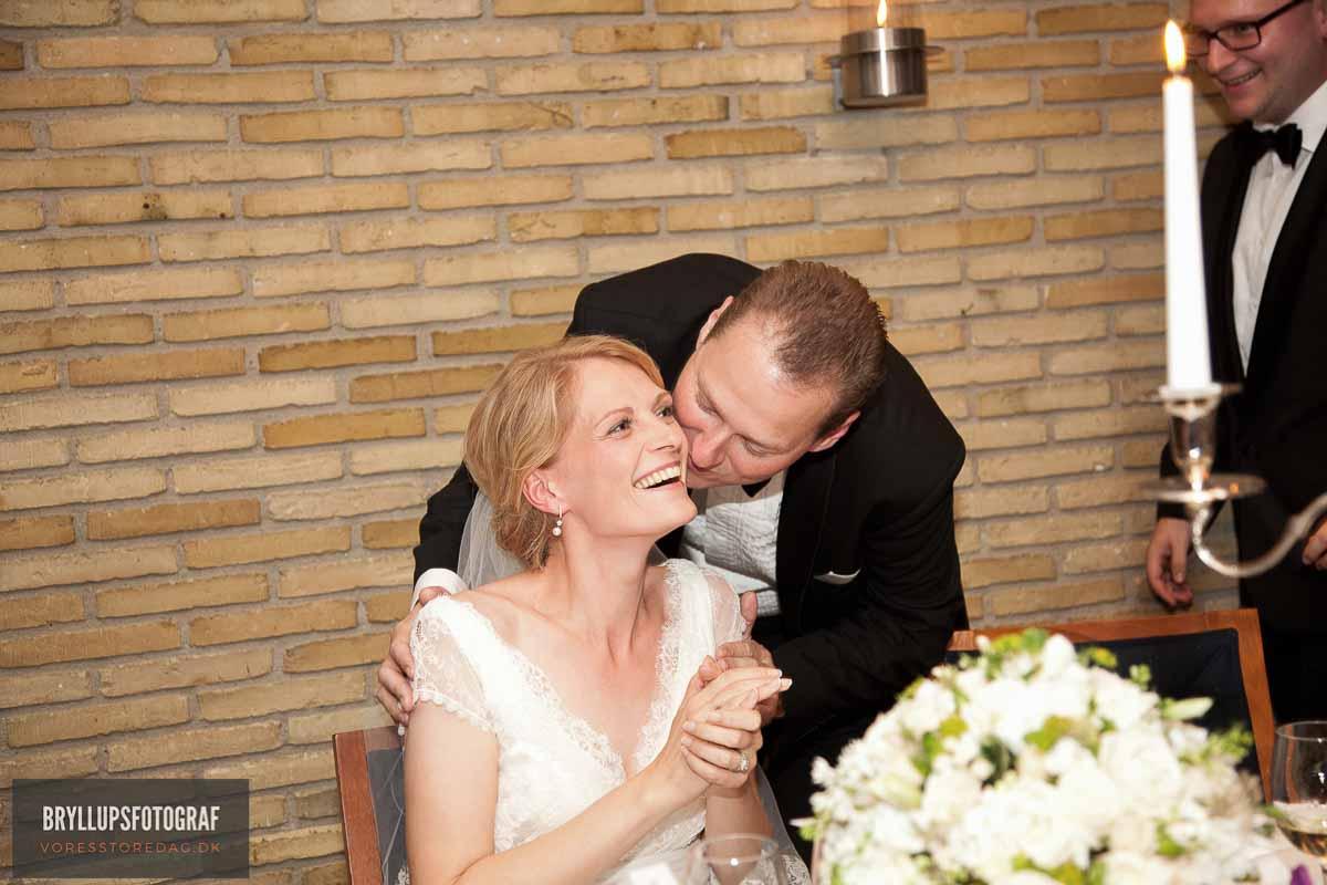kysserunde bryllup